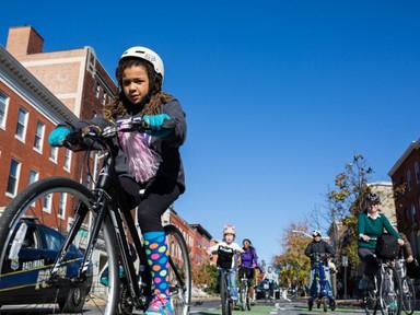 Making Progress on Baltimore's Bumpy Road to Bike Safety - Next City