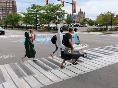 Walking On Painted Keys: Creative Crosswalks Meet Government Resistance - NPR