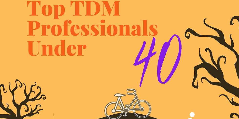 Spooktacular Top TDM Professionals Under 40 Happy Hour
