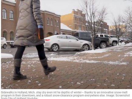 Holland Shows How to Put Pedestrians First in Winter - Streetsblog