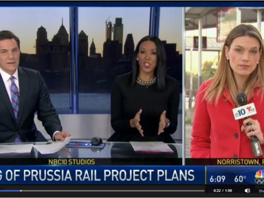 Leader of KOP Rail Project Introduced - NBC 10