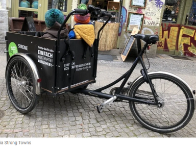 Inside Berlin's Free Cargo-Bikeshare Program - Streetsblog