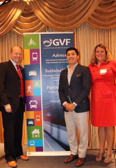 L-R_ Rob Henry, Executive Director, GVF;Bobby Fijan, Partner, Cross Properties;_ Rebecca Johnson, Executive Director, AIA Philadelphia
