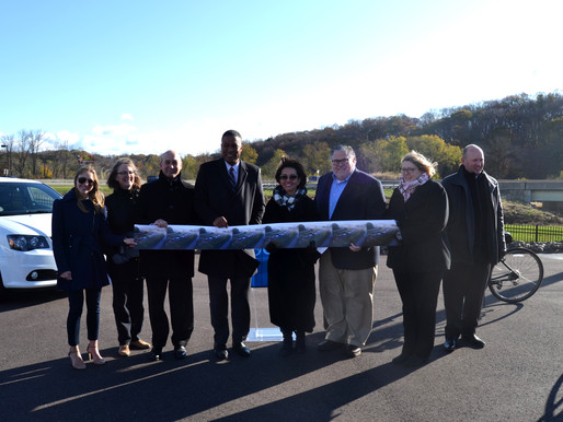 PennDOT Executive Deputy Secretary, Elected Officials and others help Launch 422 My Way Campaign