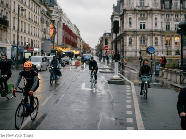 Paris by Bike - The New York Times