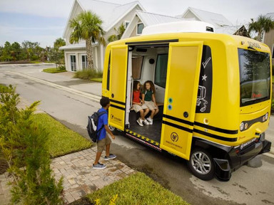 Florida town is first in the world to test autonomous school shuttles - Curbed
