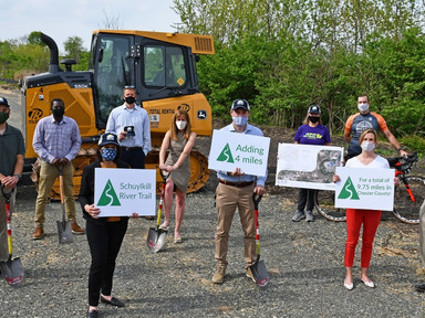 Chester County Breaks Ground on Schuylkill River Trail Extension - VistaToday