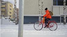 Ice cycles: the northerly world cities leading the winter bicycle revolution - The Guardian