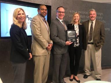 Brandywine Realty Trust Receives Air Quality Partnership Award - GVF