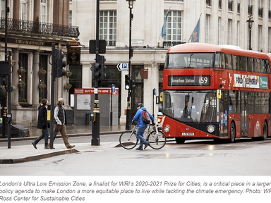 How London Uses Road Fees to Tackle Air Pollution and Inequality - The City Fix