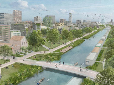 12,000 Residents, Zero Cars: Utrecht's New City District To Prioritize Pedestrians And Cyclists - Fo