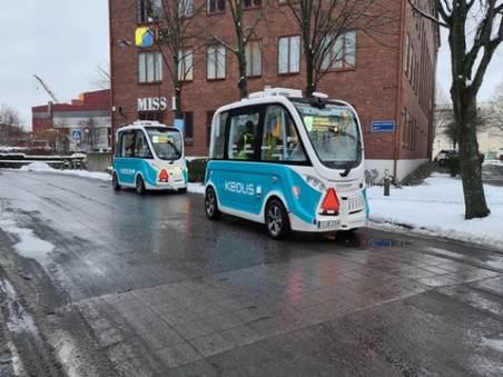 Self-driving shuttle service trial introduced in Gothenberg - SmartCitiesWorld