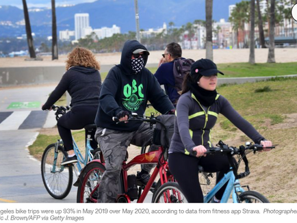 The Pandemic Bike Boom Hits in Some Unexpected American Cities - CityLab