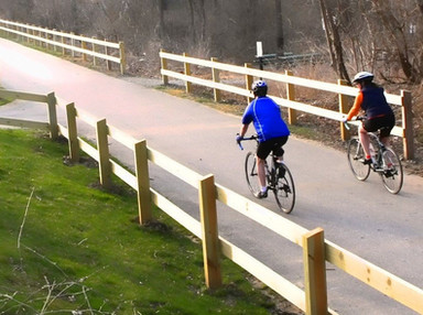 Five Things You Didn't Know About Chester Valley Trail, the Crown Jewel of the County's Trail System