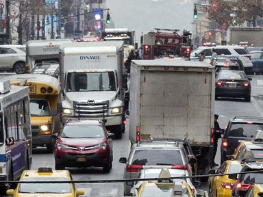 If Your Car Is Stuck in Traffic, It's Not Uber and Lyft's Fault - City Lab