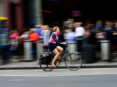 How to Bike to Work Without Looking Like a Sweaty Mess - CityLab