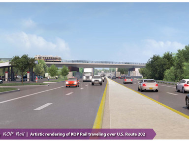 SEPTA Board Adopts Locally Preferred Alternative in King Of Prussia Rail Project's Draft Environ