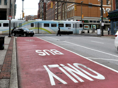 Can cities use red light cameras to enforce bus and bike lanes? - Mobility Lab