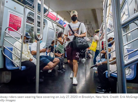 There Is Little Evidence That Mass Transit Poses a Risk of Coronavirus Outbreaks - E&E News