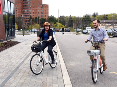 Bicycle sharing pilot program to launch Monday in Kitchener, Waterloo, Cambridge - The Record