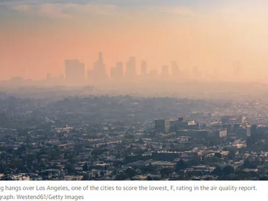 Four in 10 Americans live in counties with unhealthy air pollution levels - The Guardian