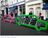 Car-shaped Bike Rack Holds 10 bikes - TheCityFix