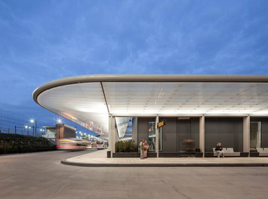 Bus stations don't have to be second-rate, as this one in Tilburg demonstrates - Tree Hugger