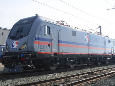 SEPTA's first new electric locomotive has pulled into Philly - Curbed