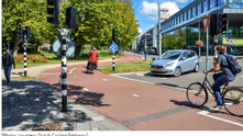 At this intersection, drivers have to ask the bikes to stop - Fast Company