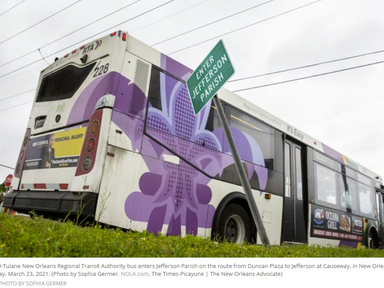 New Orleans is planning a new bus rapid transit line - Times-Picayune