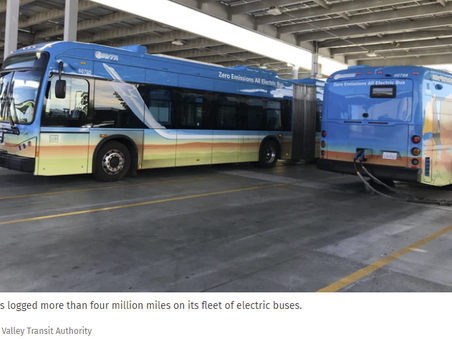 Entire U.S. transit bus fleet could transition to zero emission at a cost of $56 billion to $89B