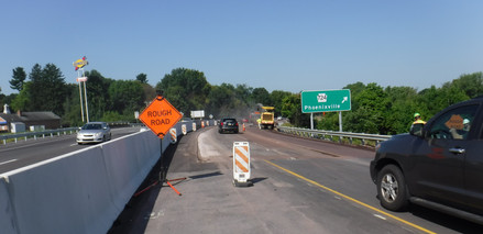 M1A - Milling of existing westbound pave