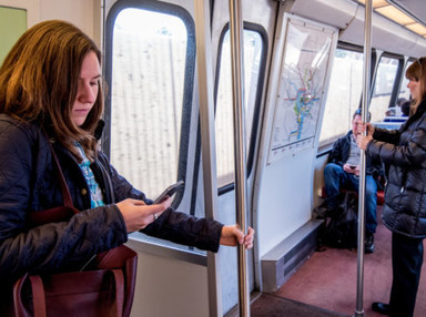 Study: Rail should make it easier for riders to telework - Mobility Lab