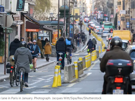 Europe doubles down on cycling in post-Covid recovery plans - The Guardian
