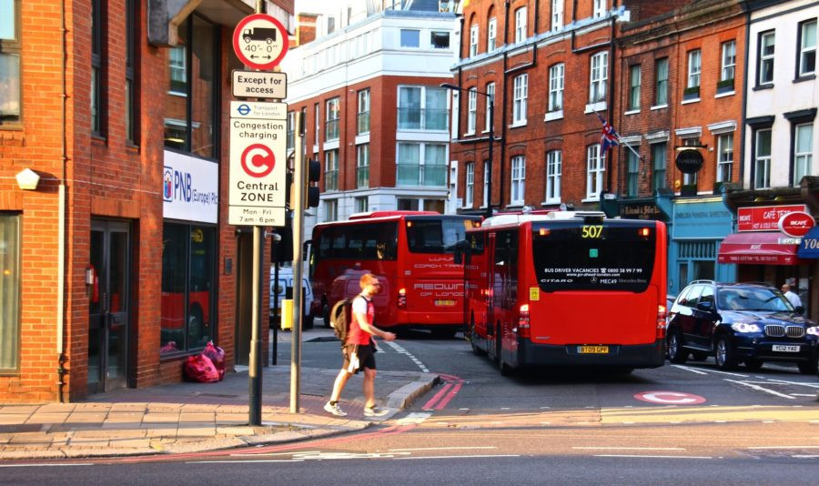 London adopted congestion pricing in 2003 and reduced the number of cars in the downtown area by 20 percent.  Alain Rouiller Follow / Flickr