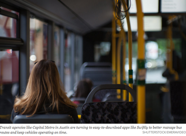 Could a Plug-and-Play App Make Transit More Efficient? - Government Technology