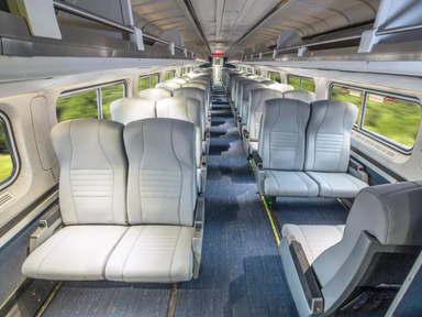 450 Amtrak trains are getting an interior makeover - Curbed