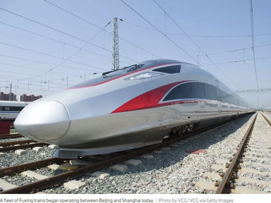 China unleashes world's fastest bullet train - Curbed