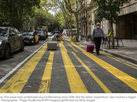 Barcelona Will Supersize its Car-Free 'Superblocks' - CityLab