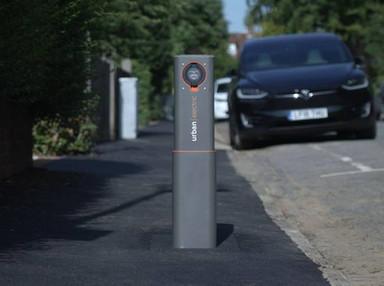 Pop-up charging hub borrows the sidewalk instead of stealing it - Tree Hugger