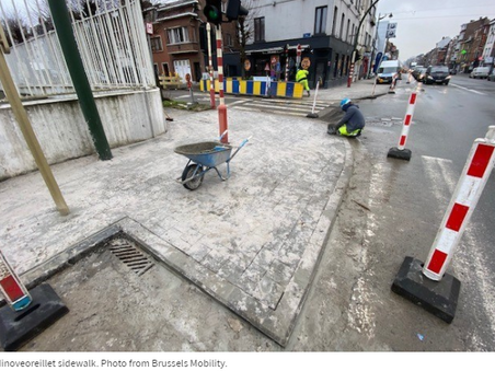 €6 million set aside for sidewalks in Brussels - The Brussels Times