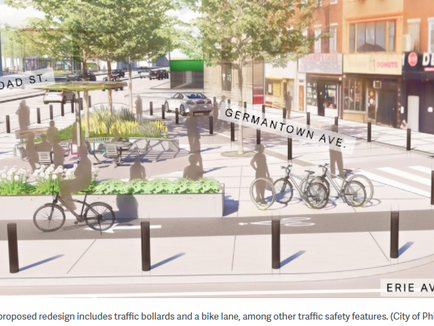 North Philly intersection reimagined as shady, green gathering space in new plan - PlanPhilly