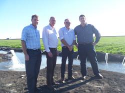 Landholder Meeting with Graham Clapham Property Cecil Plains