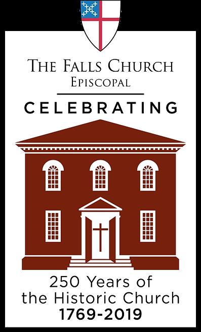 Falls church 250 anniversary logo final
