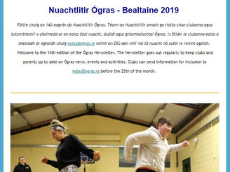 Ógras Newsletter 14th Issue - Summer Camps, X-Hale, Trips to GoQuest, Lilliput and Italy!