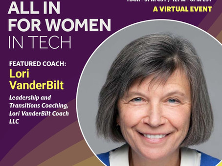 Featured Coach: All in for Women in Tech Conference