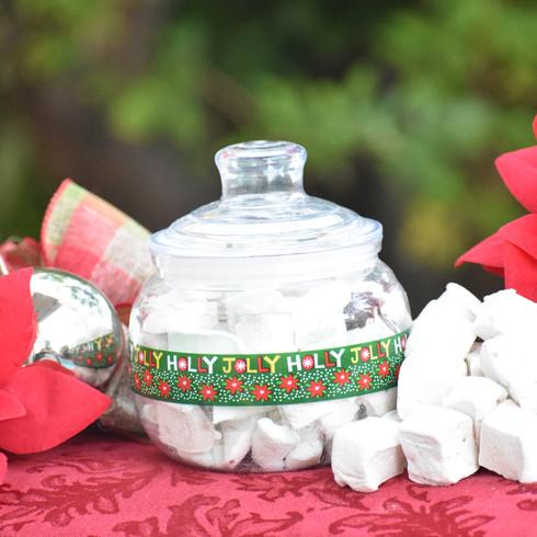 Marshmallow jars