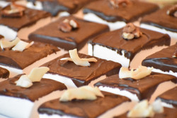 Chocolate Dipped with Pecans and Coconut