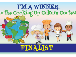 Look Who's Cooking in The Cooking Up Culture Contest...