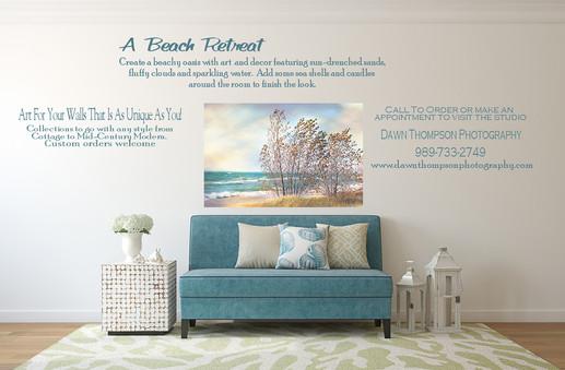 Beachy Retreat Room